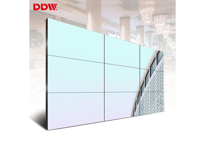3x3 Standalone Seamless LCD Screens , Bezel Less Video Wall 55 Inch