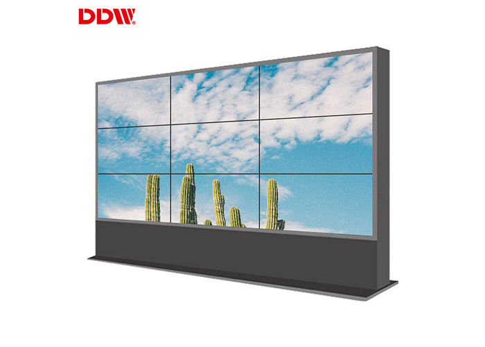Stable Performance LCD Video Wall Display MEGA DCR Contrast 10,000 K